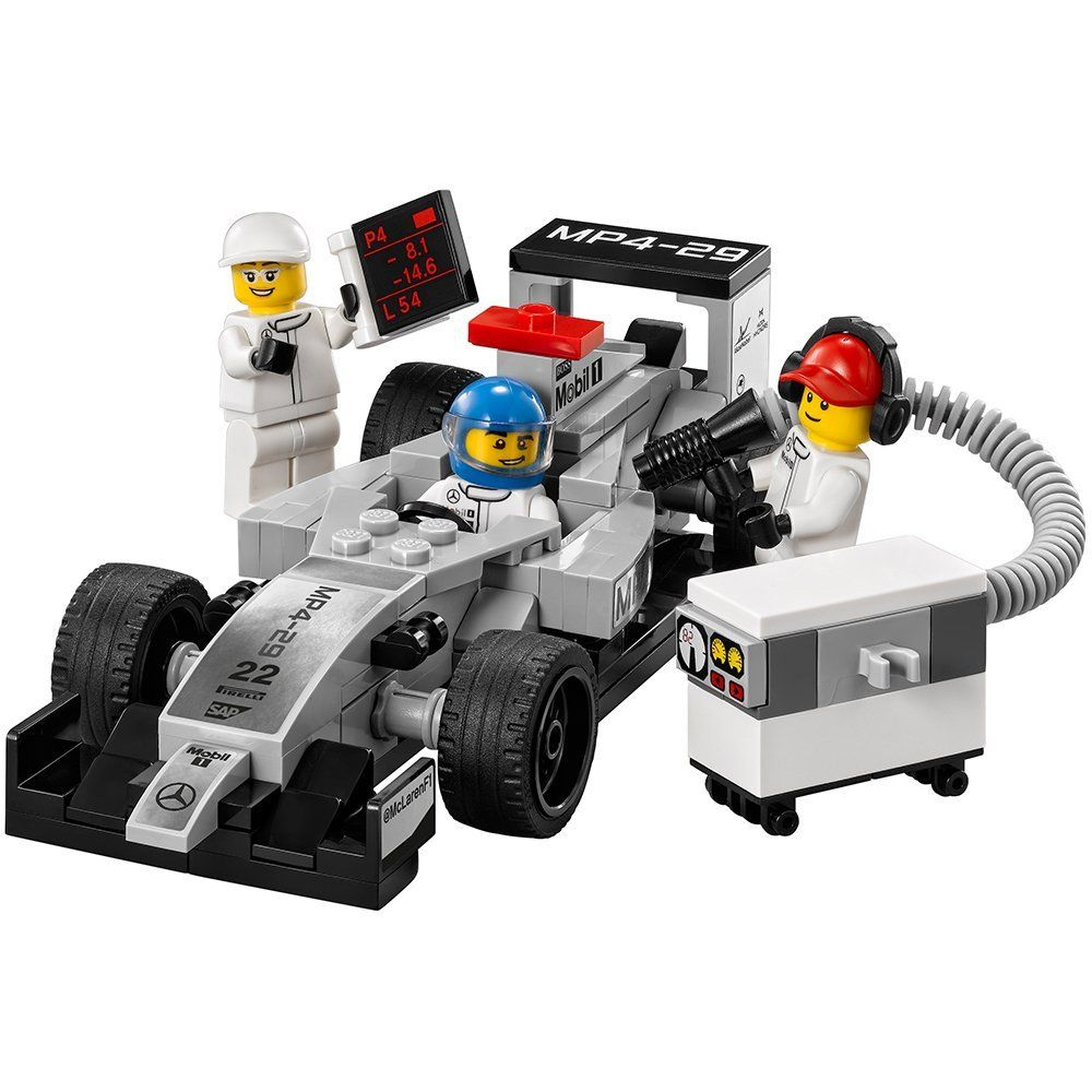 lego speed champions 75911 mclaren mercedes pit stop. Black Bedroom Furniture Sets. Home Design Ideas