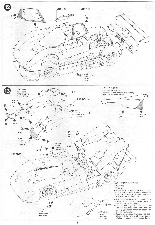 Pin By Gluefinger On Tamiya 1 24 Taka Q Toyota 88c V