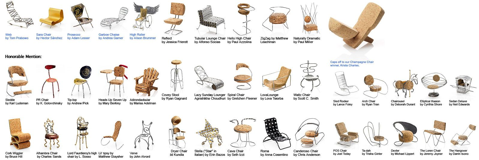 Call of the Small: Design Within Reach Champagne Chair Contest ...