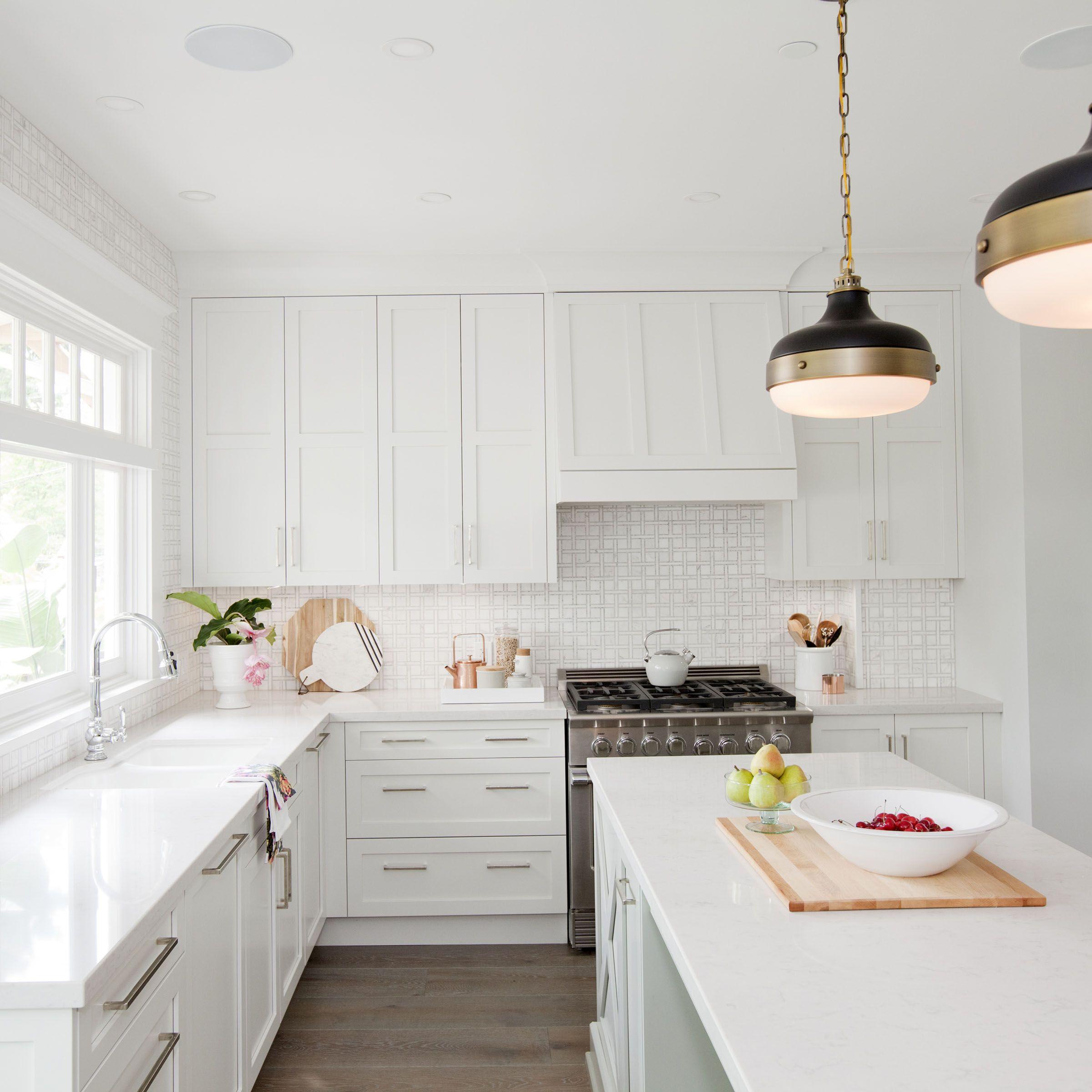 Love It Or List It Vancouver: Christine & Chris. Crisp white kitchen ...
