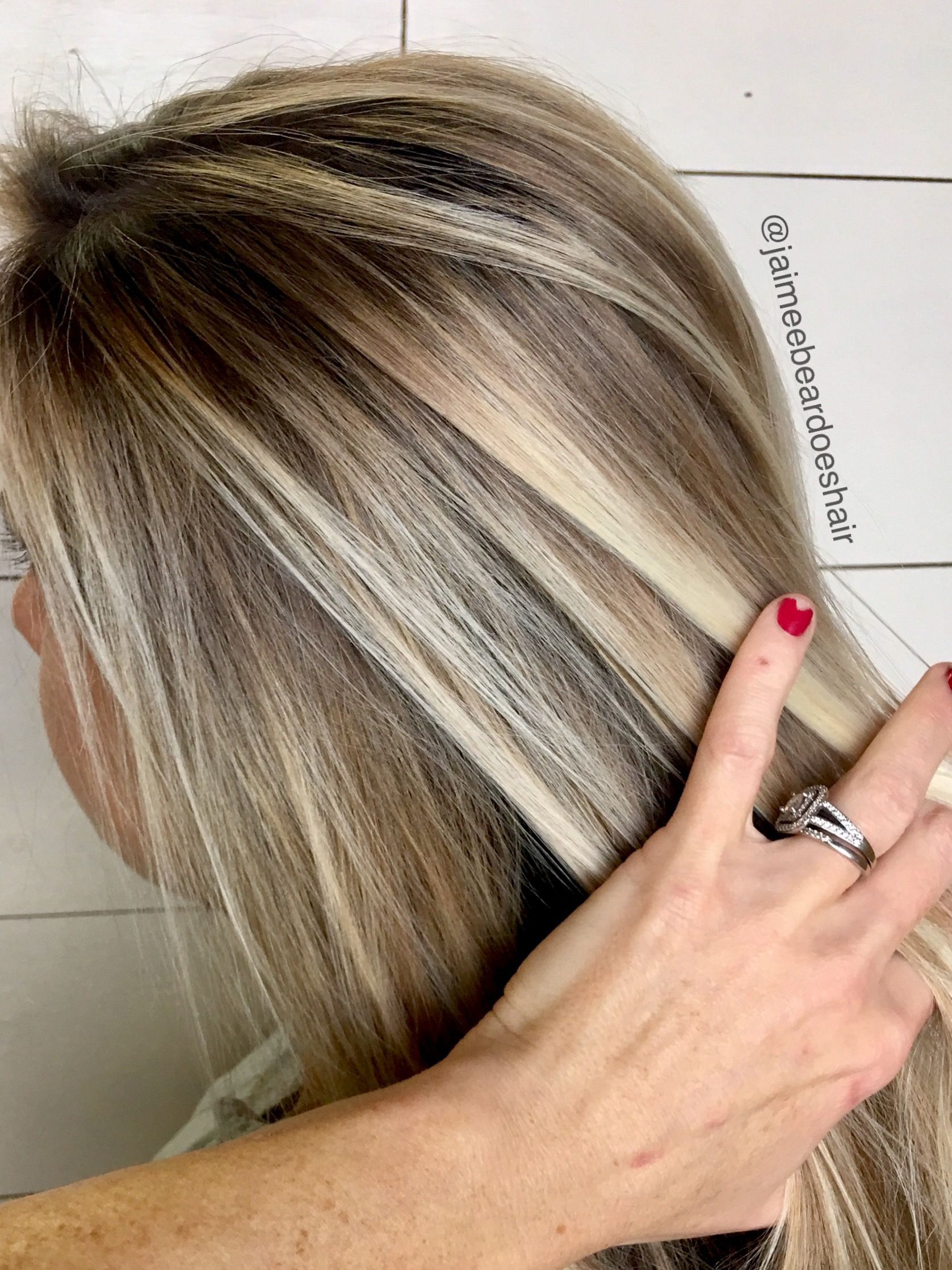 Ash Bayalage Contrast Multi Dimensional Ash Blonde With Images
