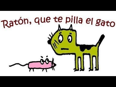 Ratón Que Te Pilla El Gato Canciones Y Retahílas Infantiles Con Subt Retahilas Infantiles Canciones Infantiles Rondas Infantiles