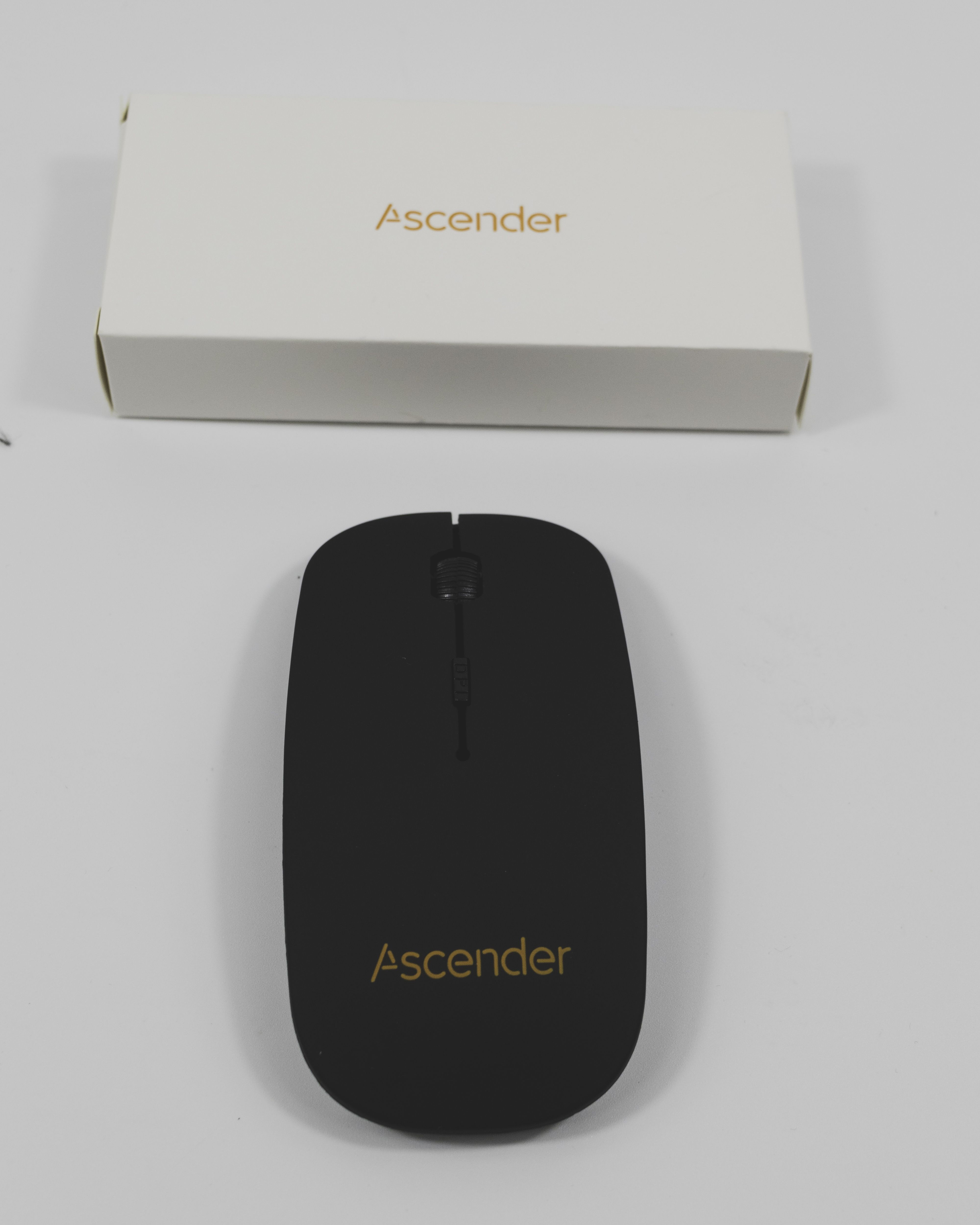 Slim Wireless Mouse Corporate gifts, Crystal box