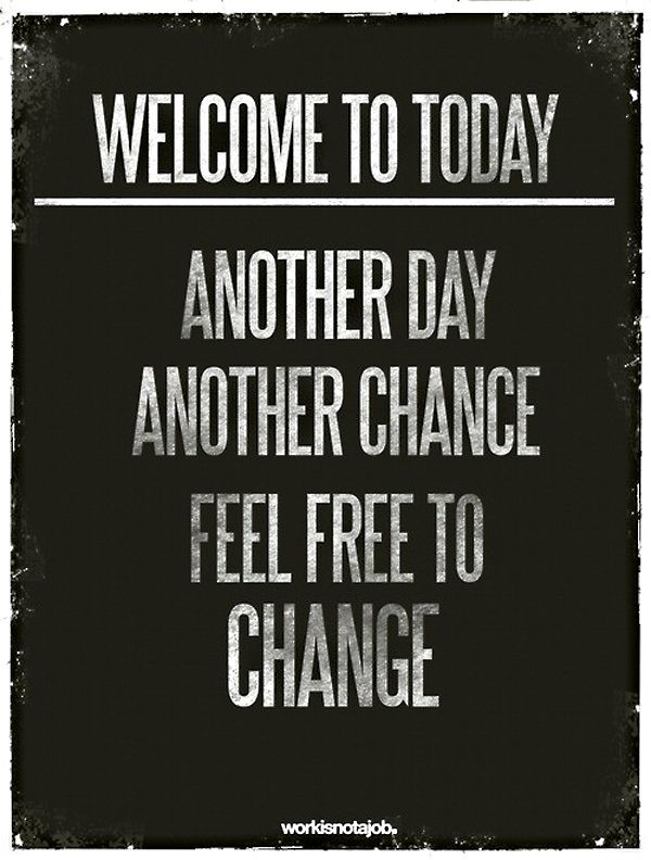 Love the start of everyday. I think I may post this in my classroom!