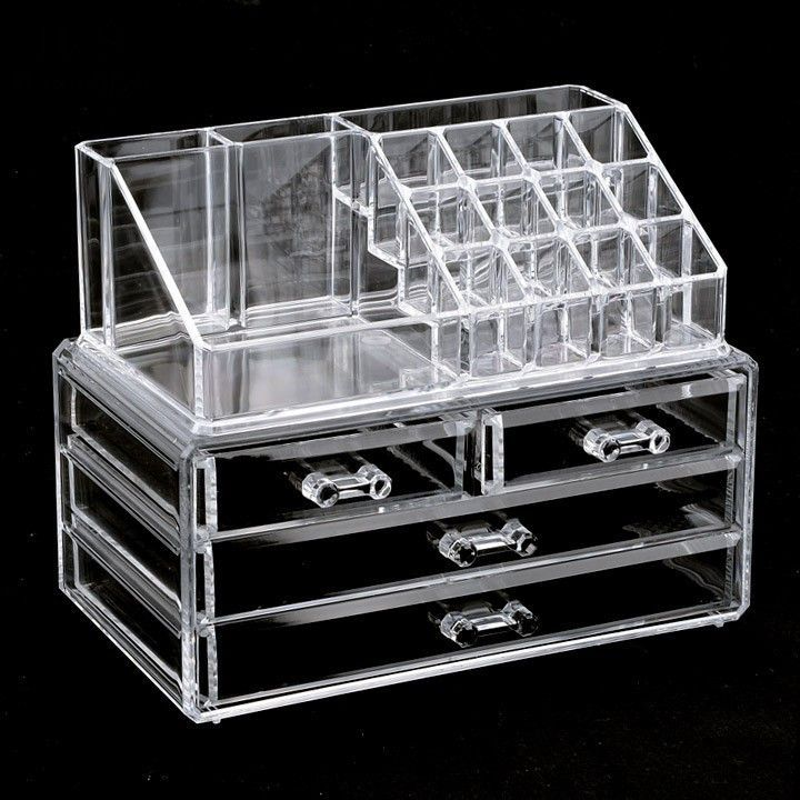 The Ultimate Makeup Storage Box Is Ideal For Organizing And Displaying Your Makeup And Cosmetics Sp Makeup Storage Box Acrylic Organizer Makeup Makeup Storage