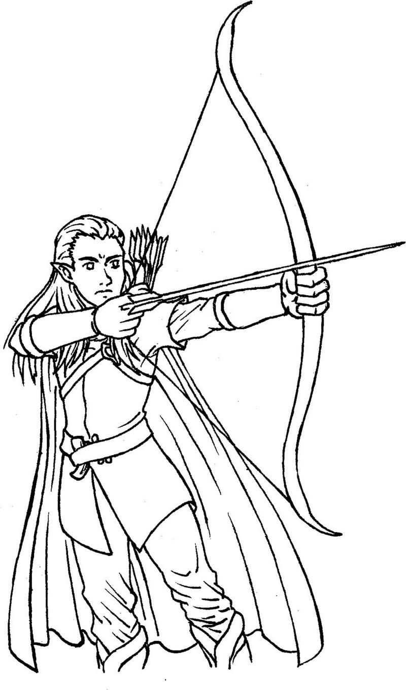 Legolas From Lord Of The Rings Coloring Picture Enchanted Forest Coloring Book Superhero Coloring Pages Animal Kingdom Colouring Book