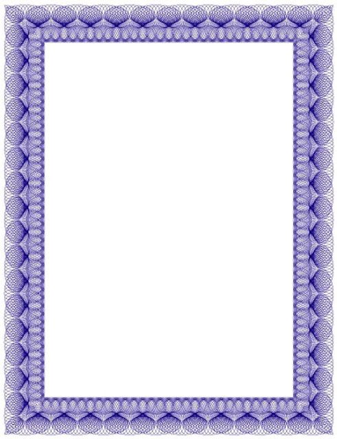 Bordes Decorativos: Bordes decorativos de diplomas para imprimir ...