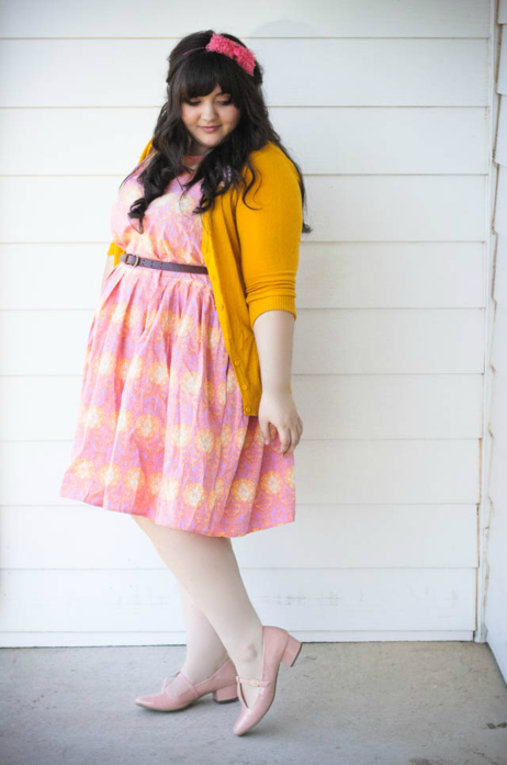 Charter School Cardigan In Honey Naughty Gal Shoes Plus Size