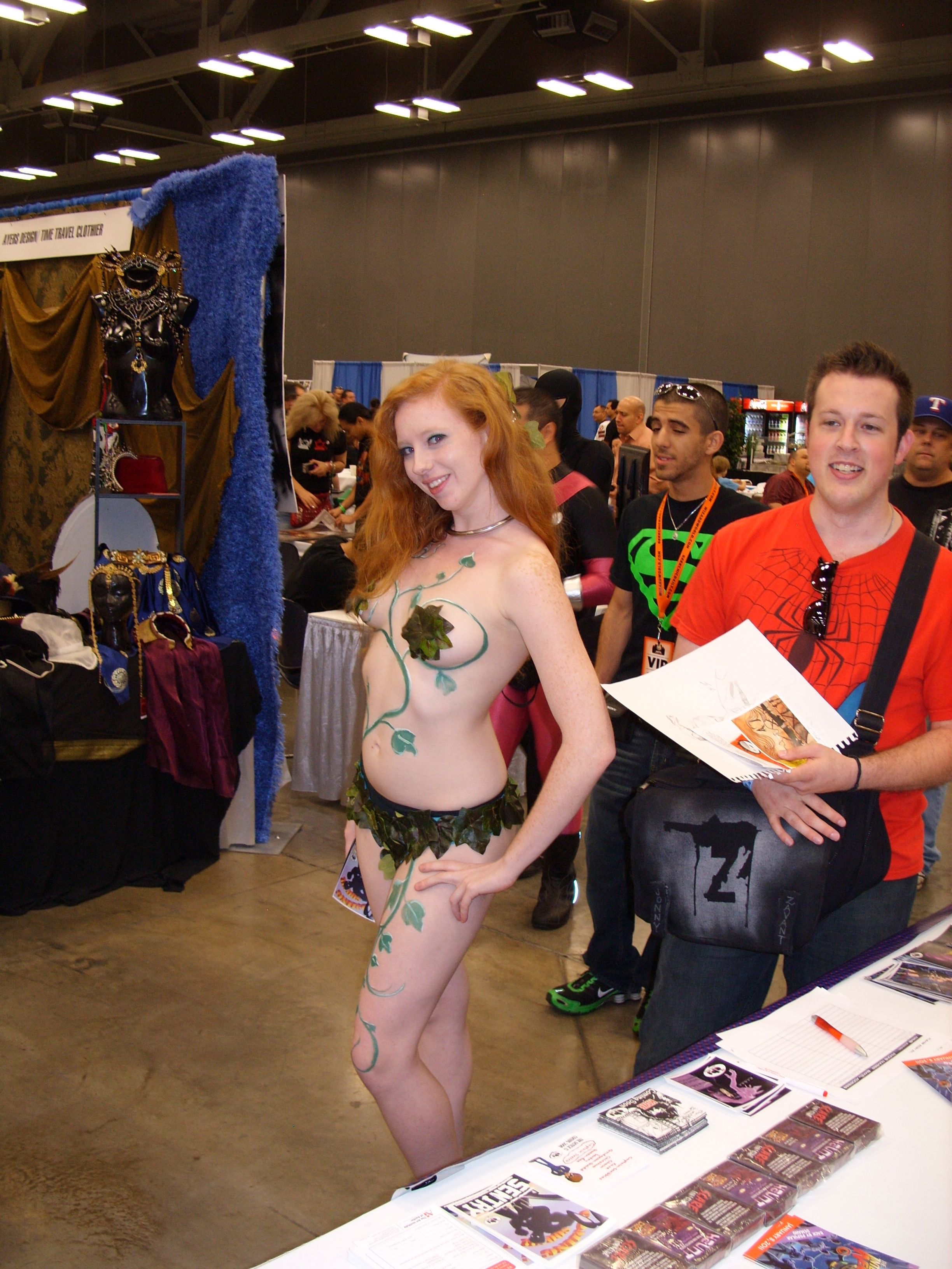 Why do female cosplayers wear sexualized outfits, but have a problem with male