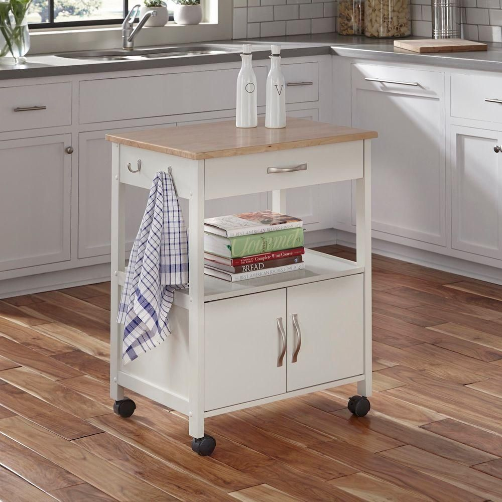 Home Depot Kitchen Cart | Banner White Kitchen Cart Kitchen Carts And Products