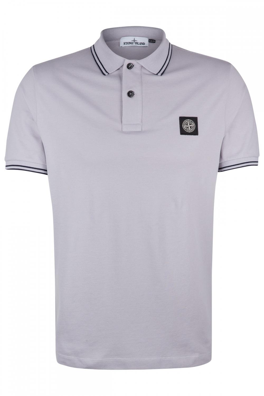 Stone Island Herren Poloshirt Hellgrau Sailerstyle In 2020 Shirts Manner Mode Poloshirt