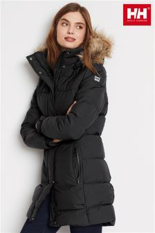 2eac8411d8 Helly Hansen Black Blume Puffy Parka | Coats | Parka, Winter jackets ...