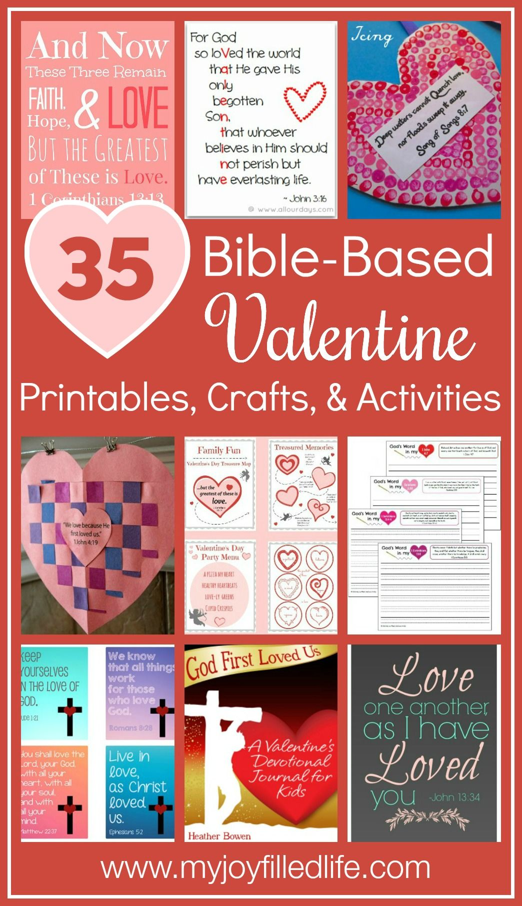 35 Bible Based Valentine Printables Crafts Amp Activities