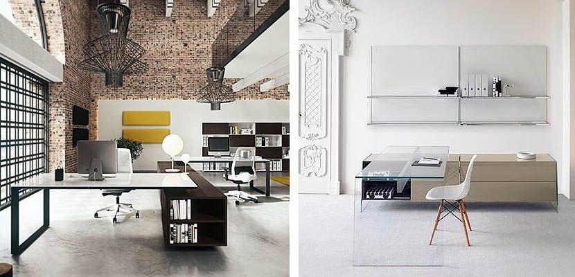 Mesas de cristal para decorar la oficina | Escritorio de cristal, La ...