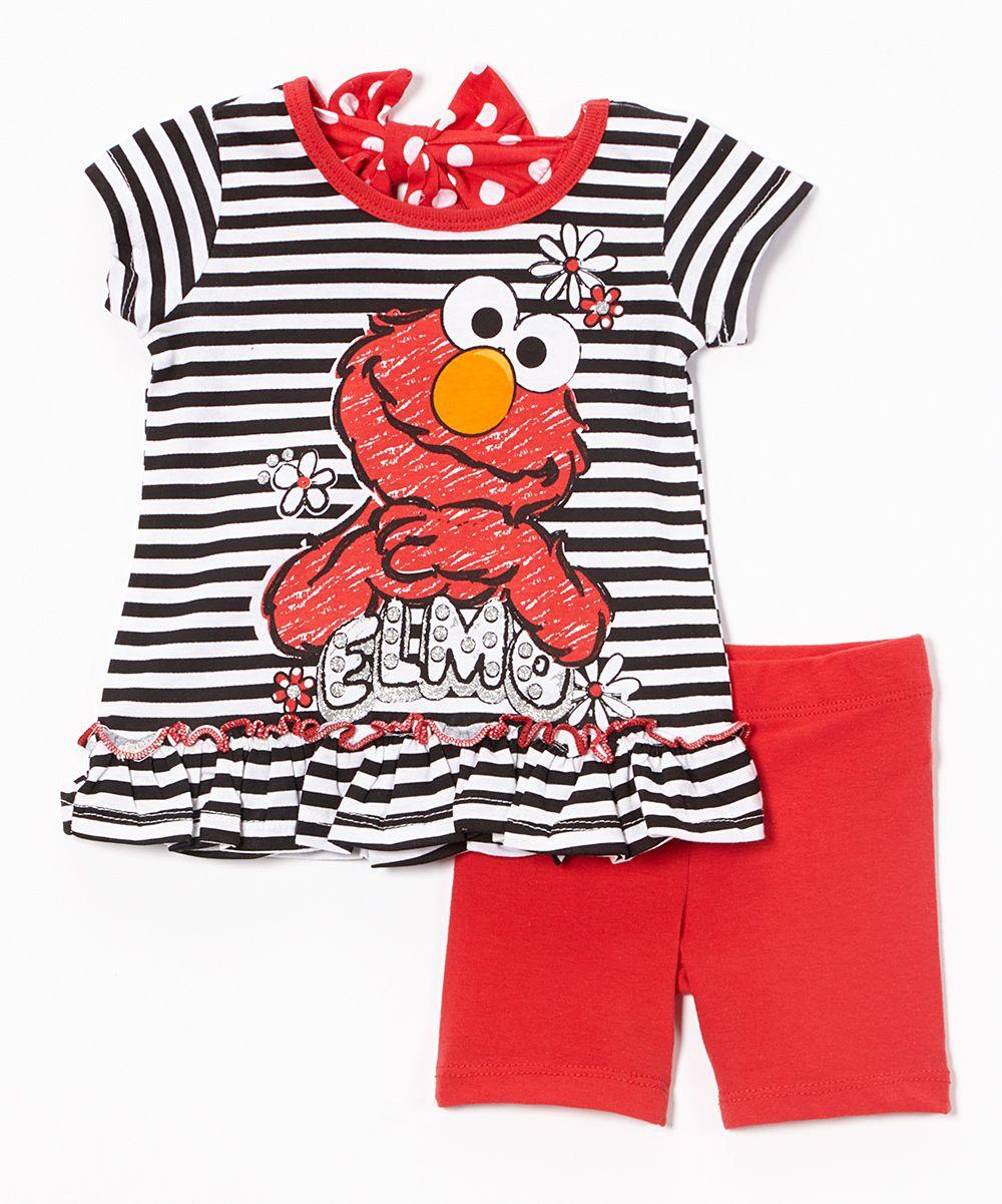 Sesame Street Elmo Top   Shorts - Infant  2136ee961