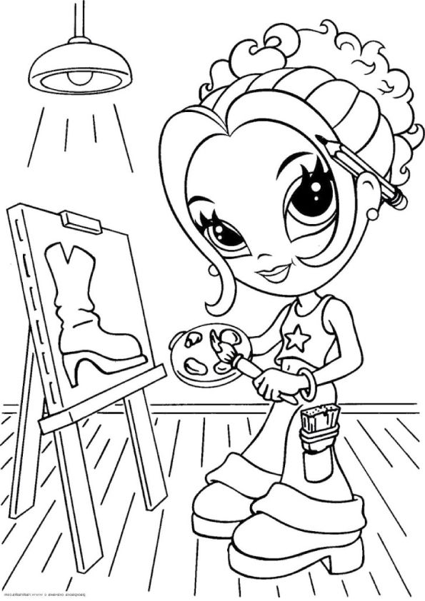 25 Beautiful Lisa Frank Coloring Pages For Your Little
