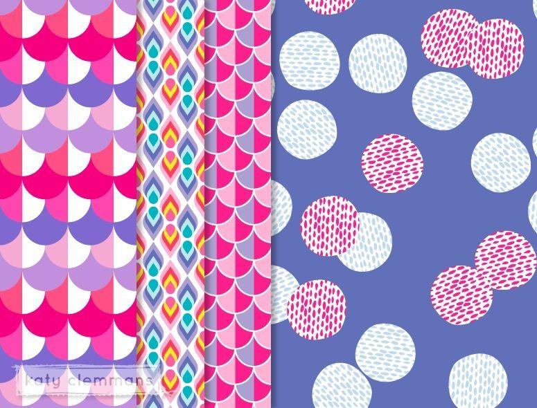 Katy Clemmans | Pattern Design | Think Pink