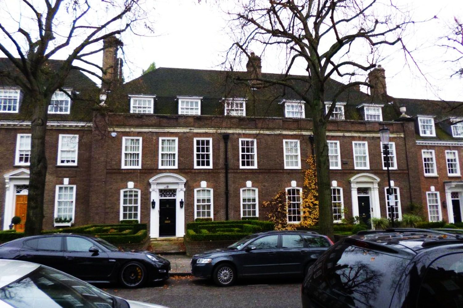 Ilchester Place - Holland Park, London designed by SAY Architects Ltd 2013