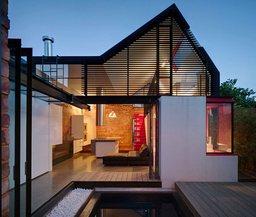 Ultra Green Modern House Design With Japanese Vibe In: Architectural Designs For Modern Houses