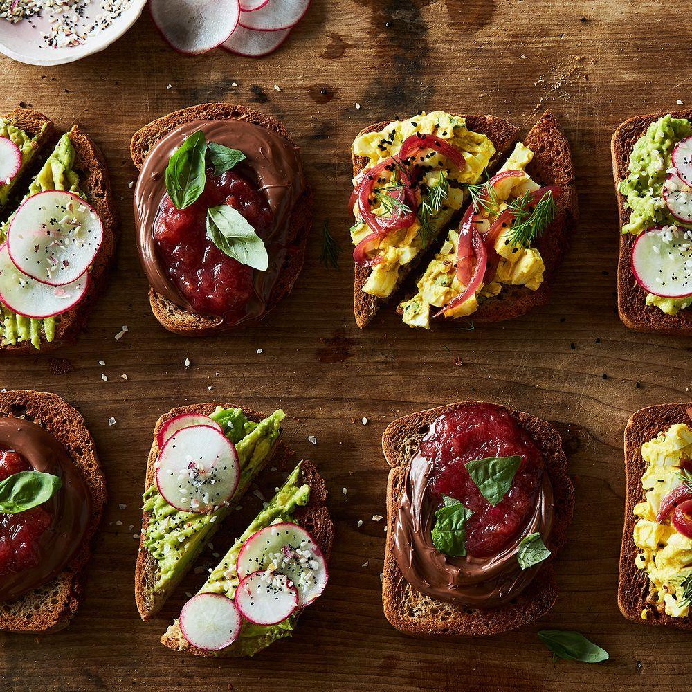 Avocado + Everything Bagel Spice Smørrebrød recipe on Food52