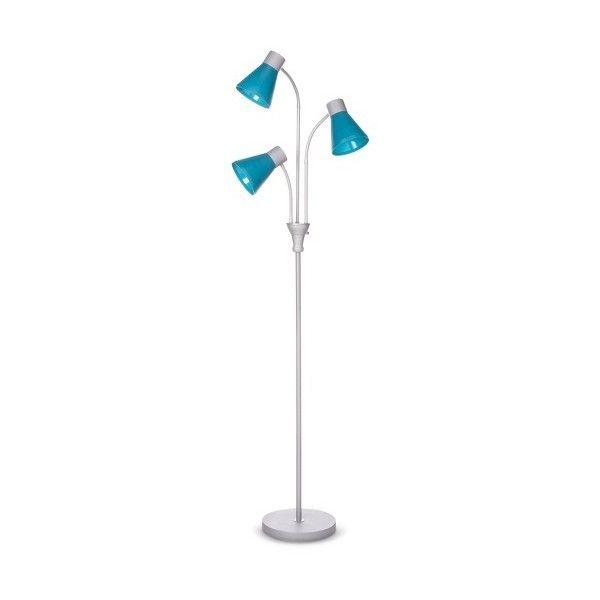 MultiHead Floor Lamp   Liked On Polyvore Featuring Home - Multi light floor lamp