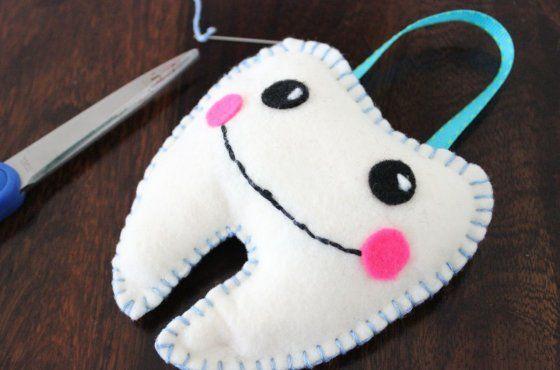 Almohada para guardar los dientes que se caen | Great Ideas | Pinterest
