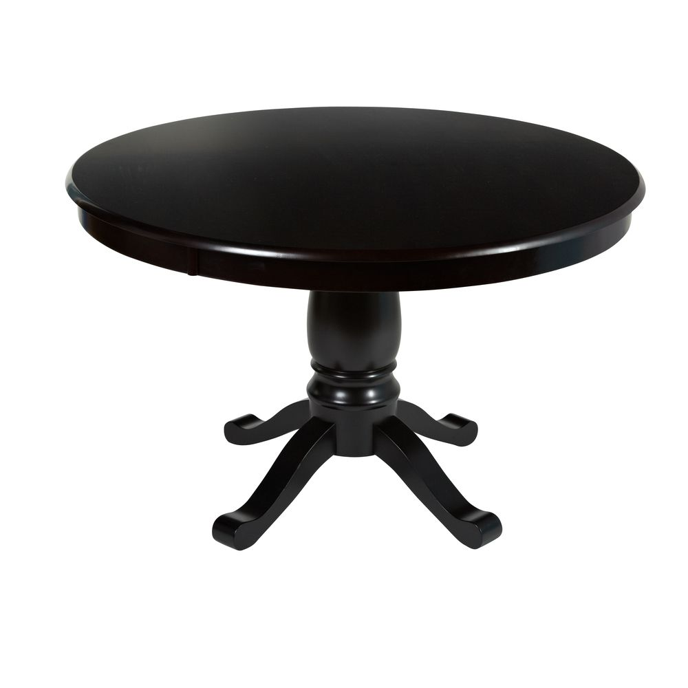 Alexa Black Round Pedestal Dining Table Overstockcom  : 9933d14497c7311a3d747bc0f3c46dbc from www.pinterest.com size 1000 x 1000 jpeg 148kB