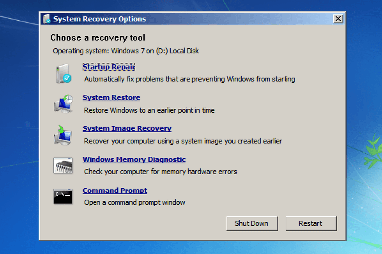 7 Solutions To Fix Windows Failed To Start Windows 7 Error