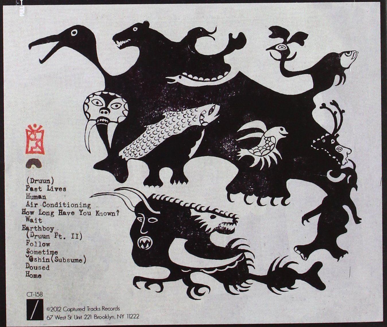 318b01b6cb226 DIIV Oshin | Listen | Inuit art, Art, Strange beasts