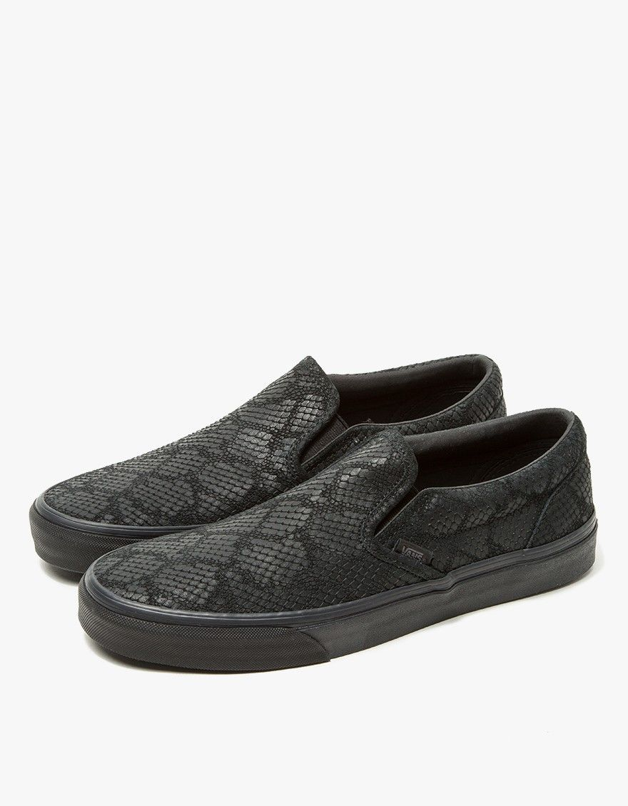 From On Vans, the classic Slip On From Zapatos in Negro | Zapatos an Botas 538fec
