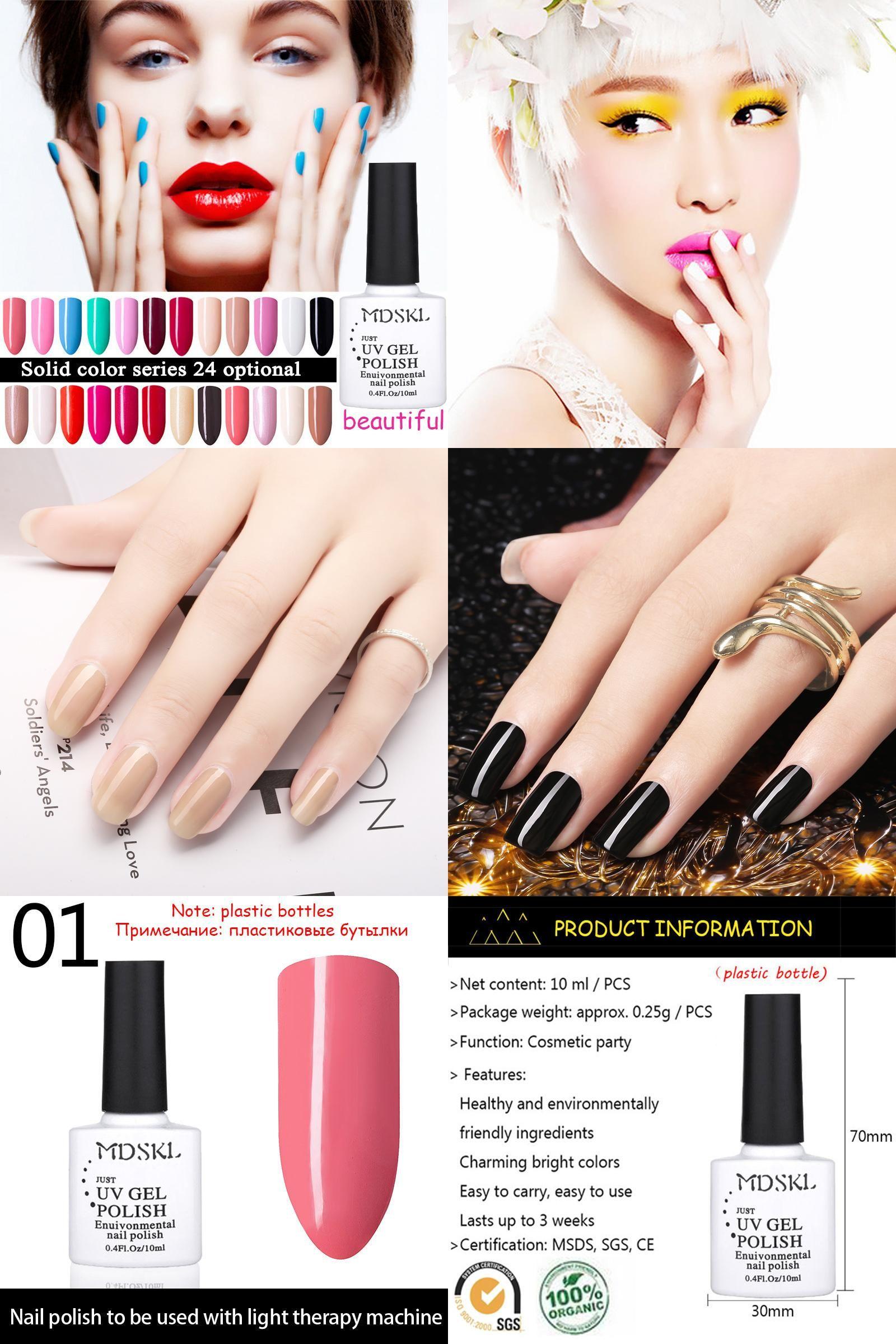 Visit to Buy] MDSKL 96 Colours Long Lasting Color UV Gel for Nail ...