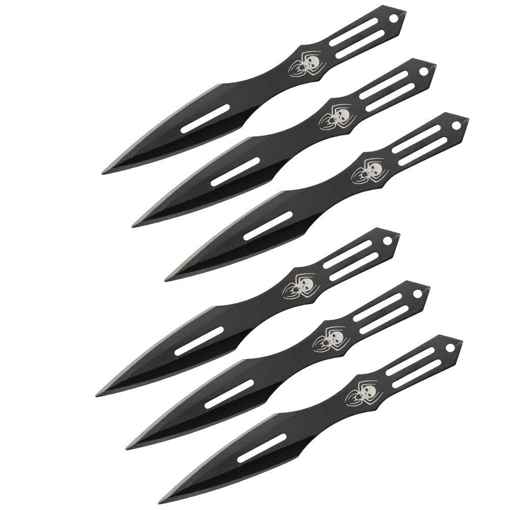 great set of 6 ninja throwing knives 440 stainless steel really great set of 6 ninja throwing knives 440 stainless steel really sharp 11 85 http