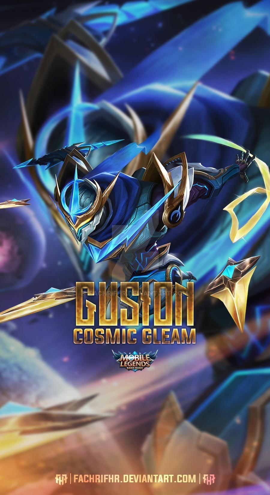 Gusion Cosmic Gleam by FachriFHR on DeviantArt in 2020 ...