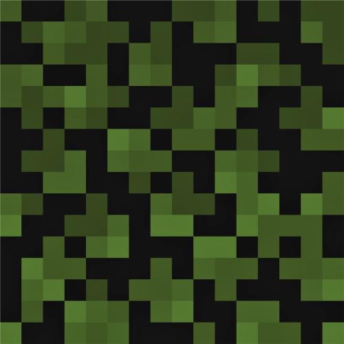Minecraft Inspired Obsidian Block Pattern Pattern Blocks Wall Stickers Minecraft Minecraft Blocks