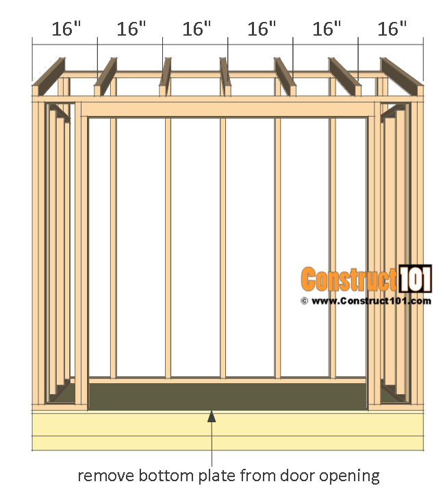 lean to shed plans 4x8 step by step plans diy shed on extraordinary unique small storage shed ideas for your garden little plans for building id=11391