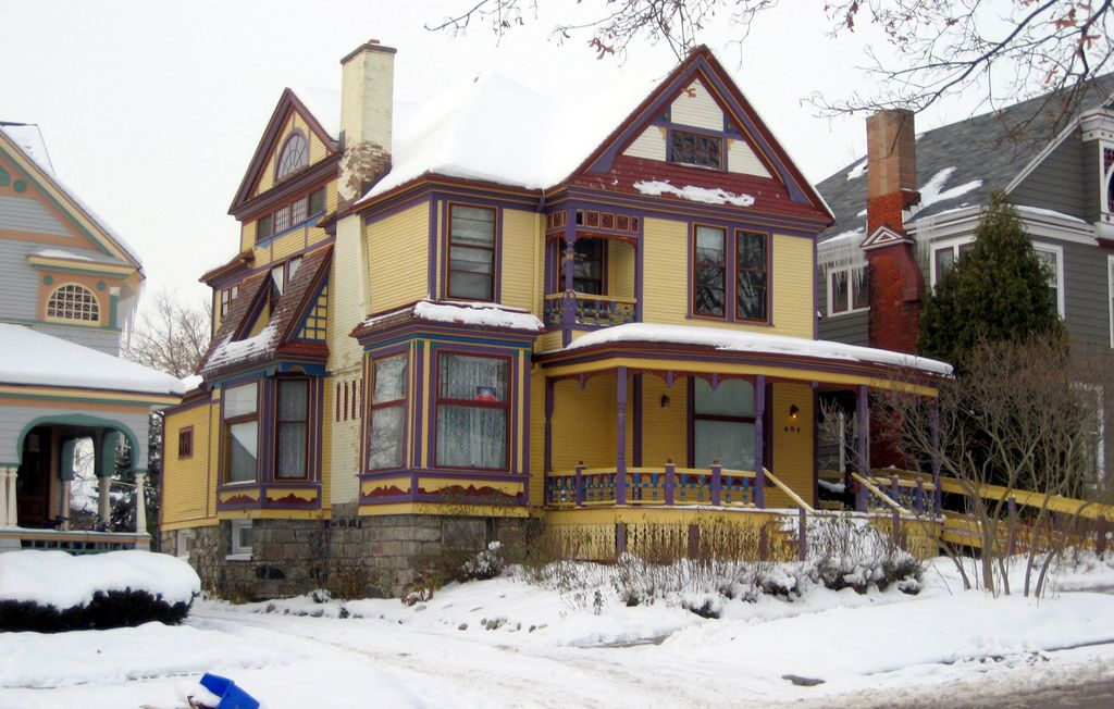 Colorful House Victorian homes, House colors, Historic homes