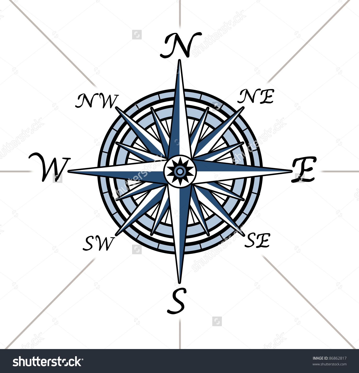 Stock photo compass rose on white background representing a compass images stock pictures royalty free compass photos and stock photography buycottarizona Image collections