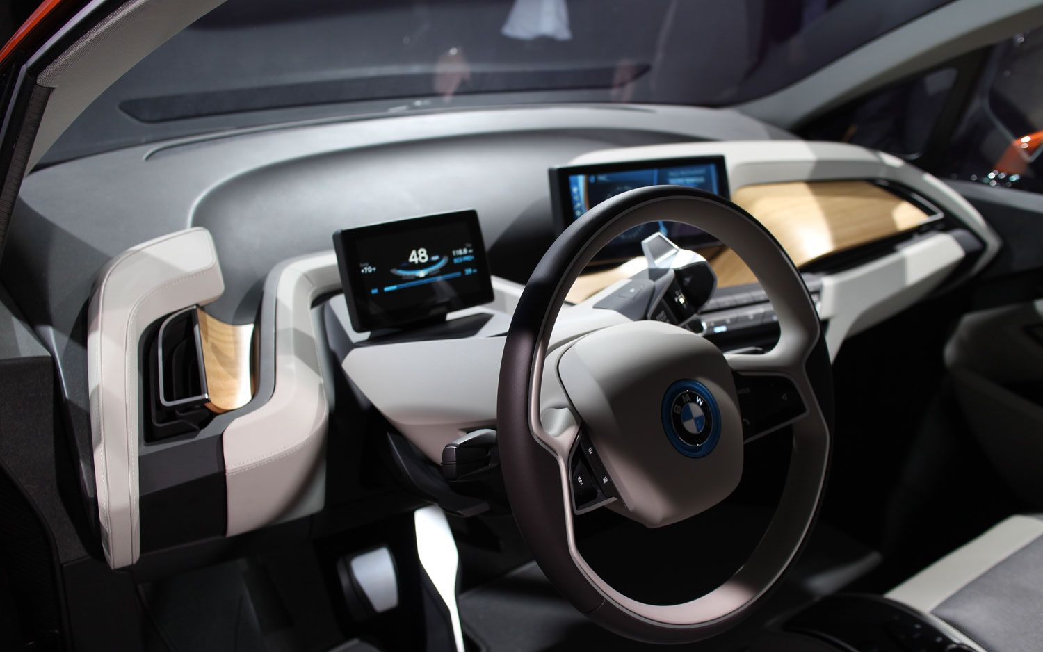 bmw i3 interior 6 car interior pinterest bmw i3. Black Bedroom Furniture Sets. Home Design Ideas