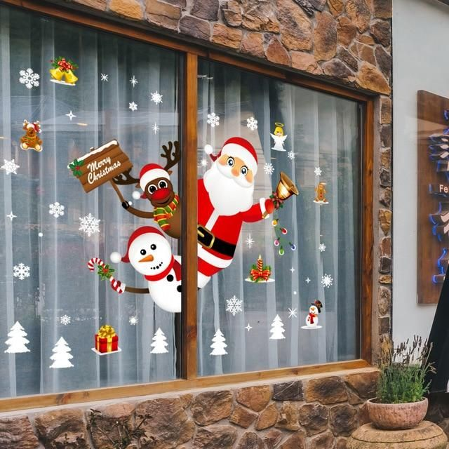 Photo of Large Size Merry Christmas Wall Stickers – NO.19