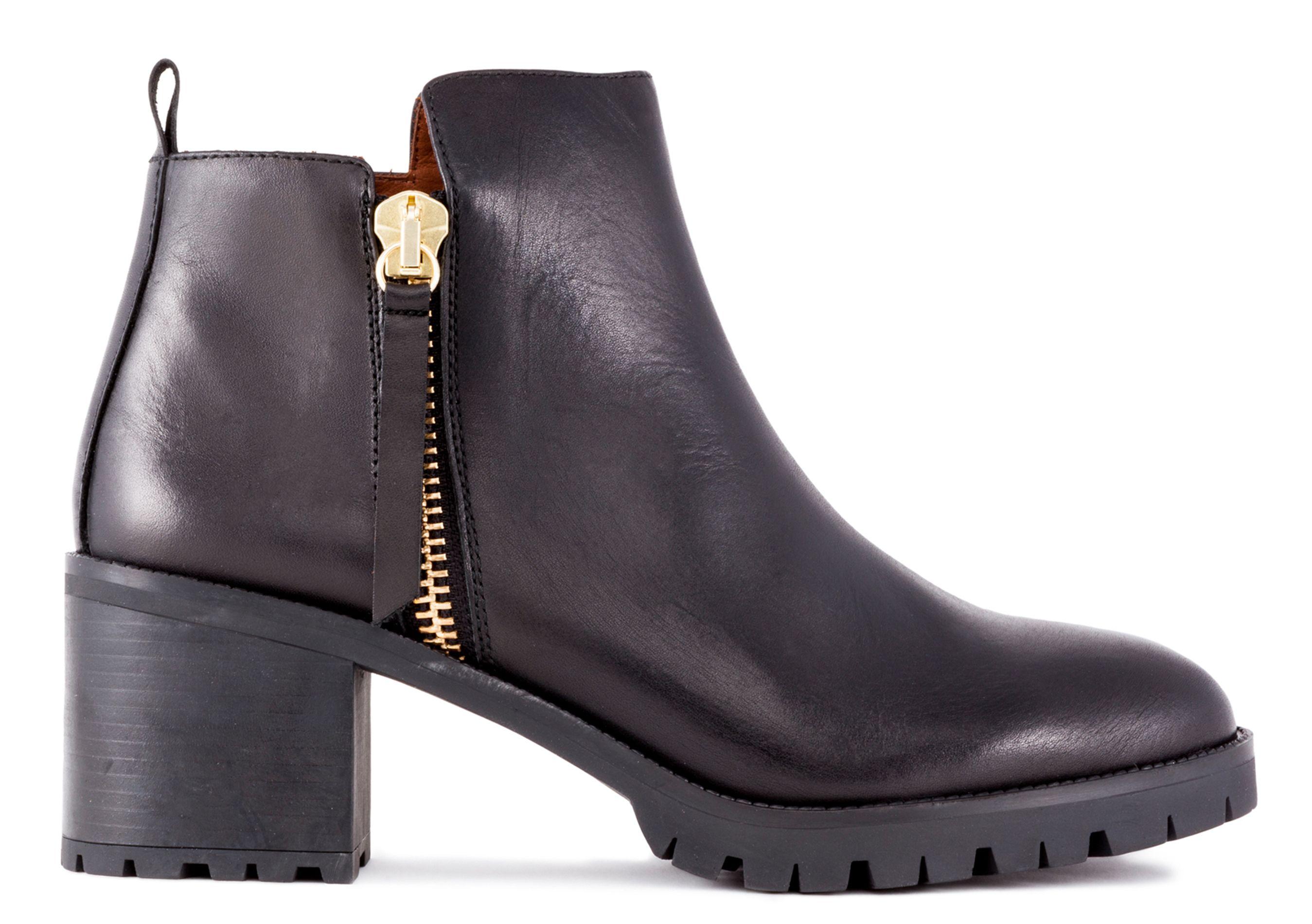 Boots en cuir Noir by BIMBA Y LOLA