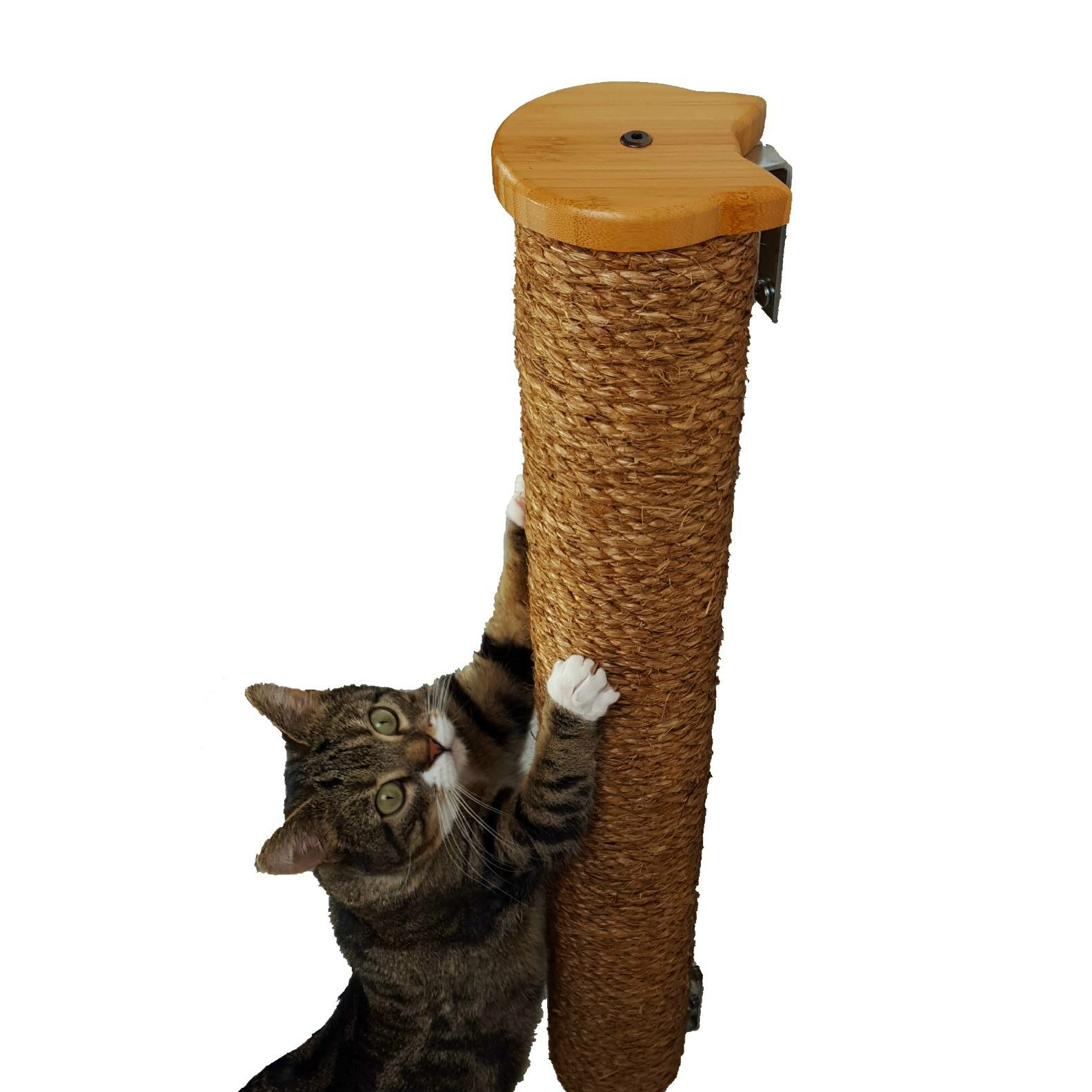 Wall Mounted Cat Scratching Post with Manila Rope 28