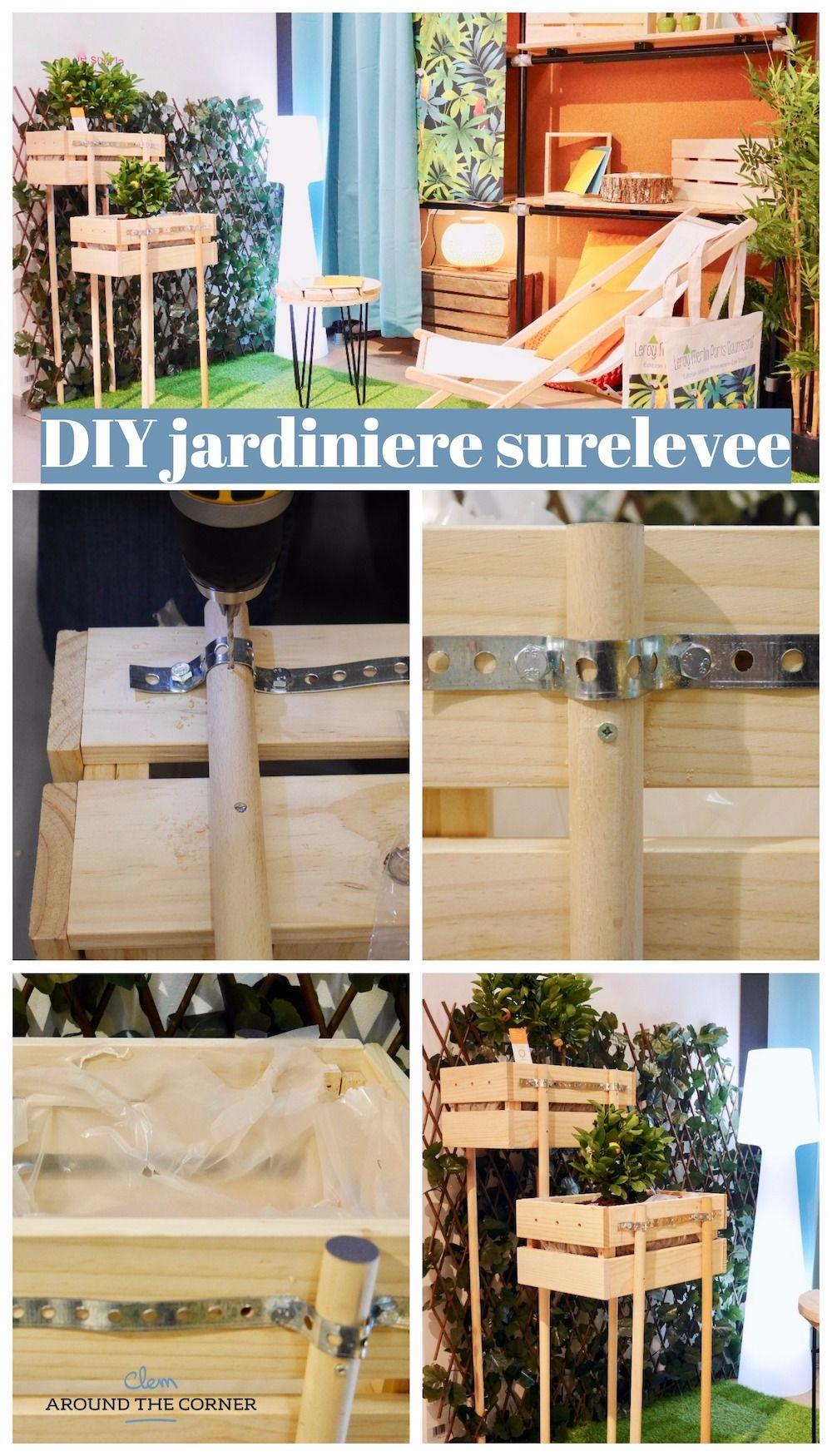 Diy Jardiniere Blog Deco Creation Diy Jardiniere Sur Pied Diy
