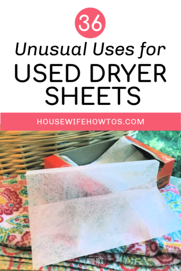 Uses For Dryer Sheets