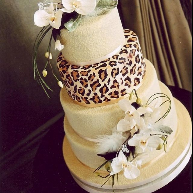 Images Of Leopard Print Cakes