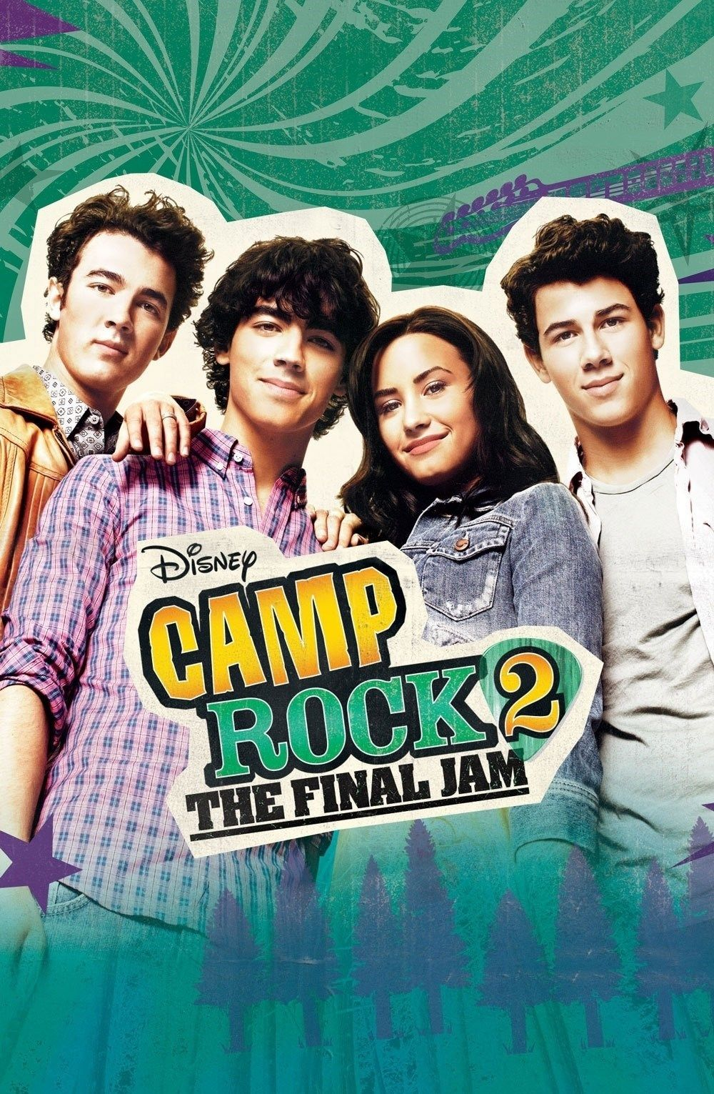 Camp Rock 2 The Final Jam Filmes Da Disney Filmes Filmes De Aventura