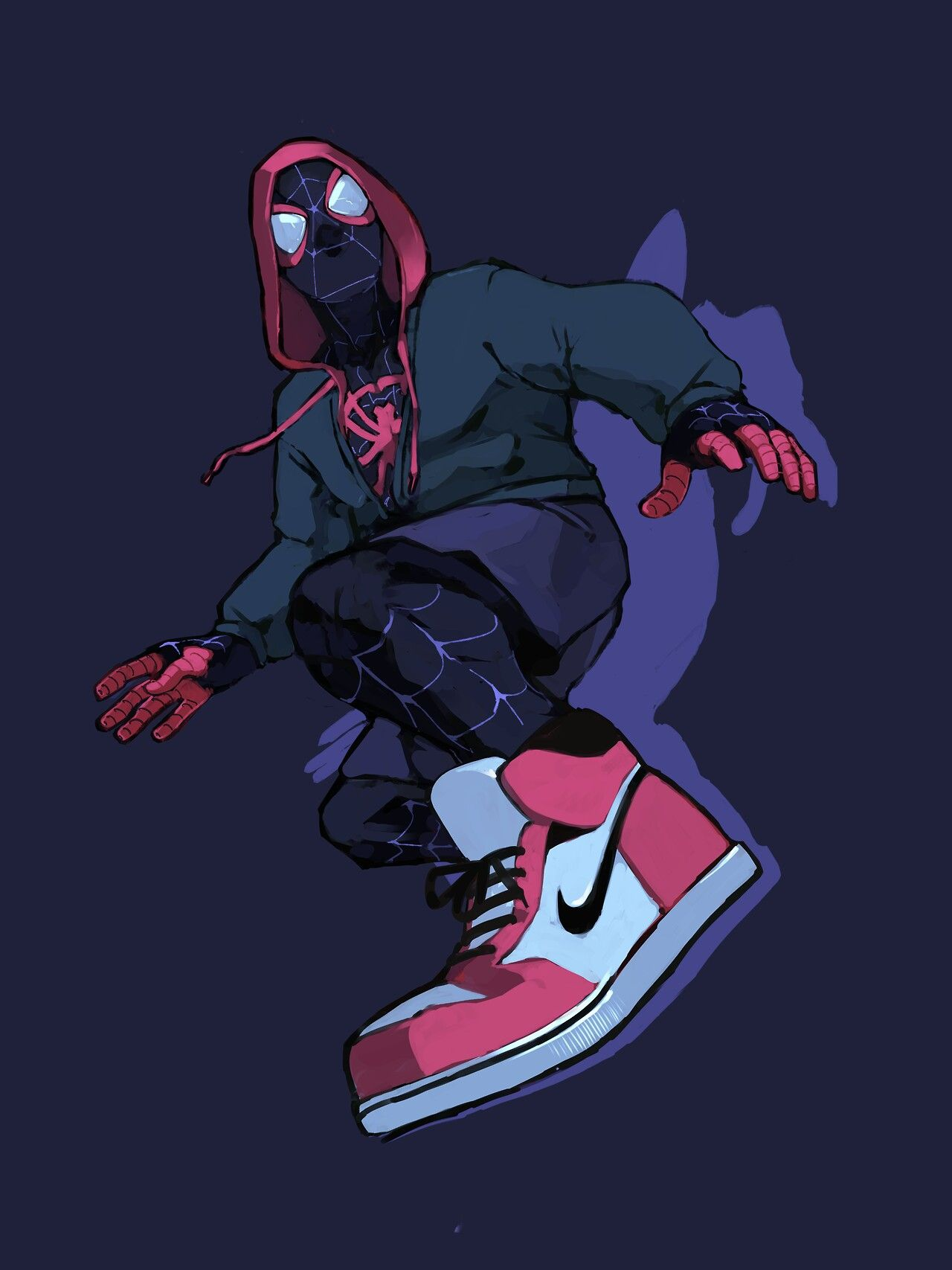 Pin By Sinon 02 On Marvel Spiderman Miles Morales Marvel