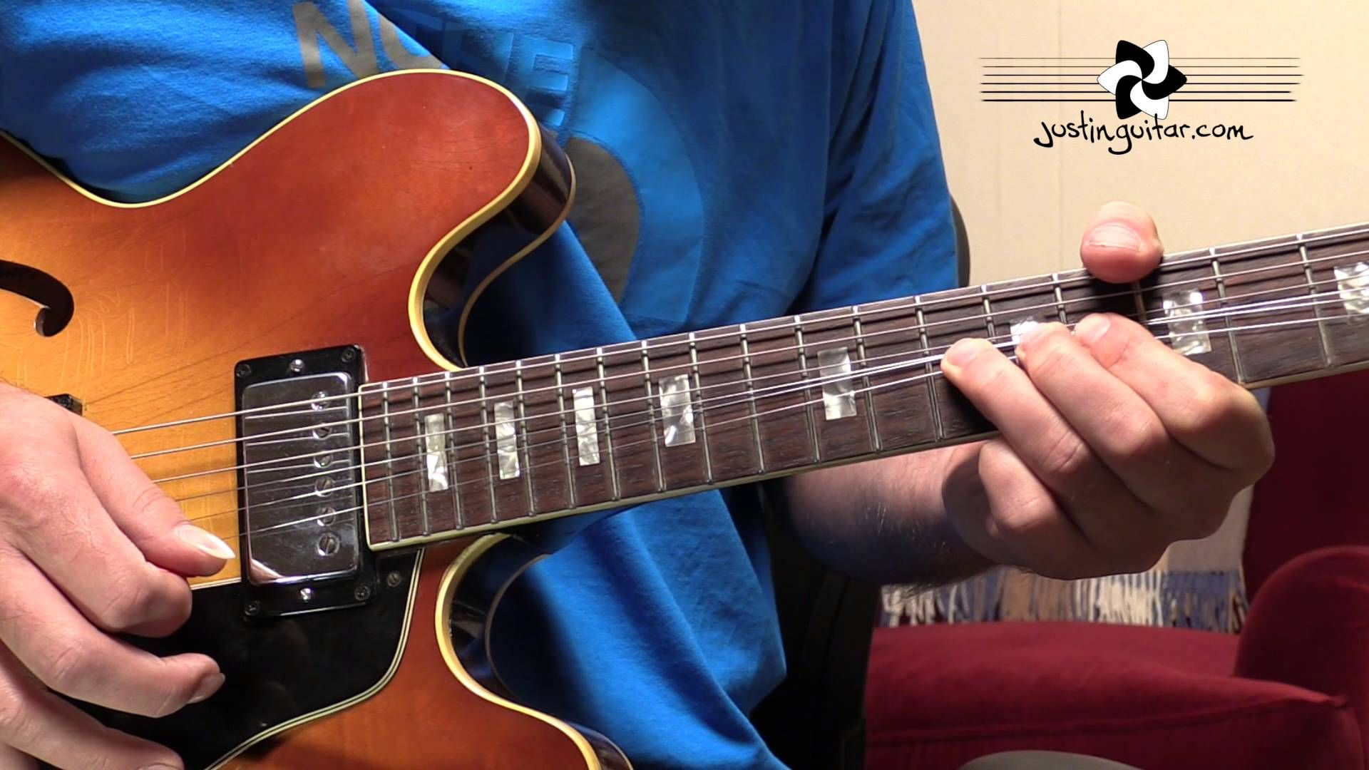 The Thrill Is Gone Intro Solo Bb King Guitar Lesson Tutorial