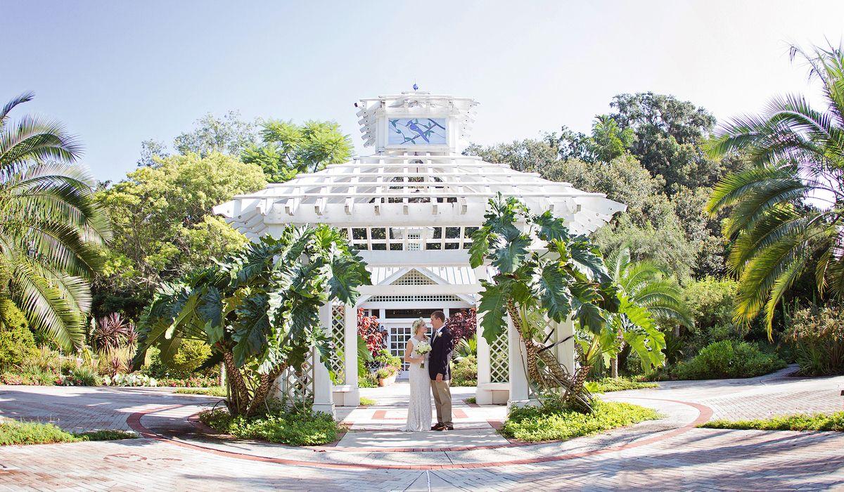 Elope to orlando florida beach garden wedding packages