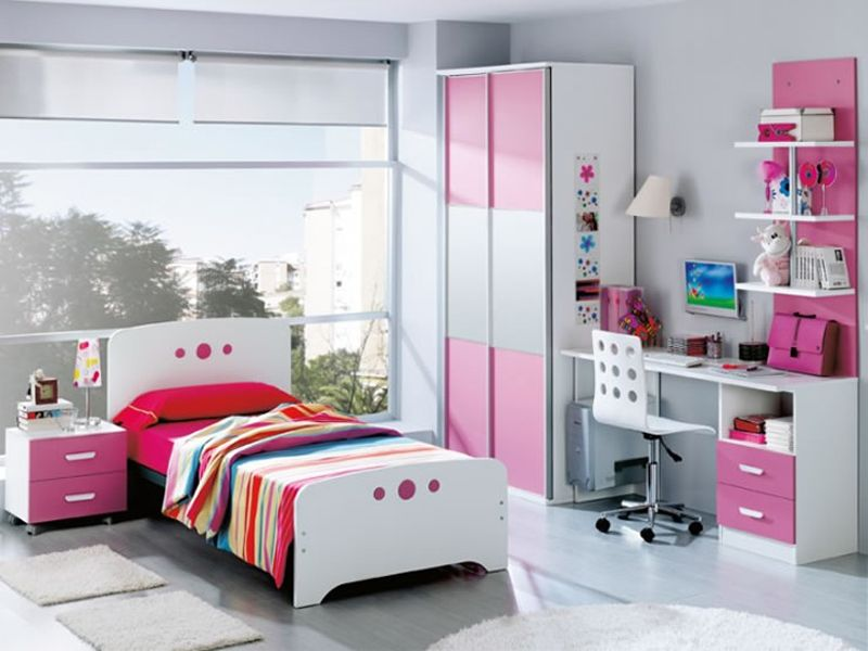 Para las habitaciones peque as en donde conseguir un for Decoracion de oficinas juveniles