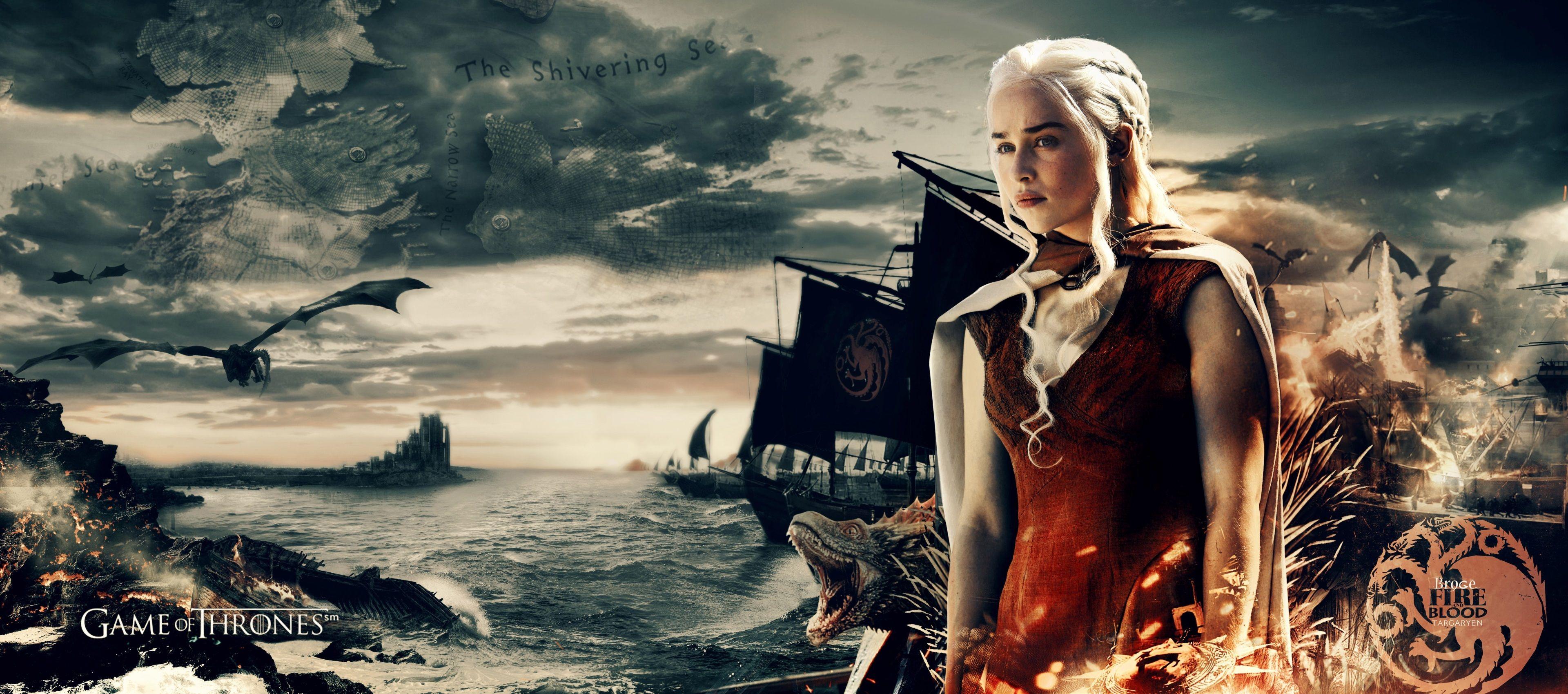 3840x1699 Daenerys Targaryen 4k Hd Screen Wallpaper Daenerys Targaryen Wallpaper Game Of Thrones Khaleesi Daenerys Targaryen